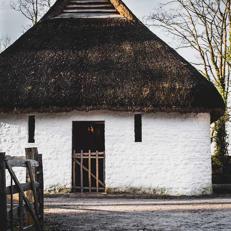 Building at St Fagans in Cardiff