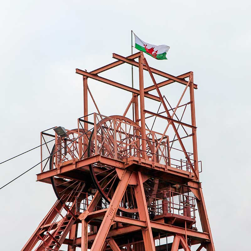 Big Pit Museum - the Pithead