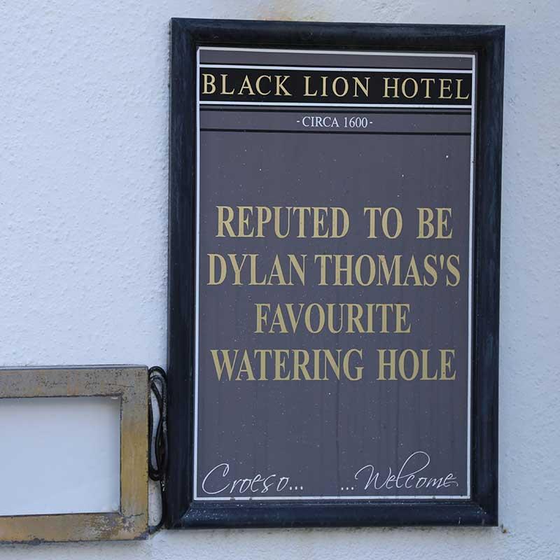 New Quay pub sign