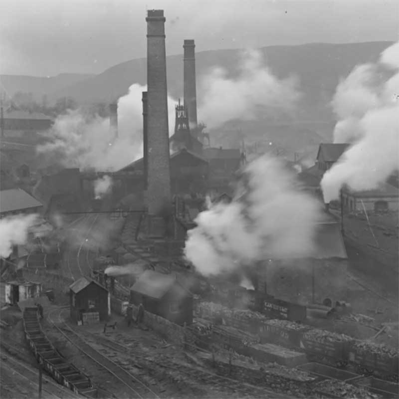 Cymmer Colliery Porth Rhondda Valley