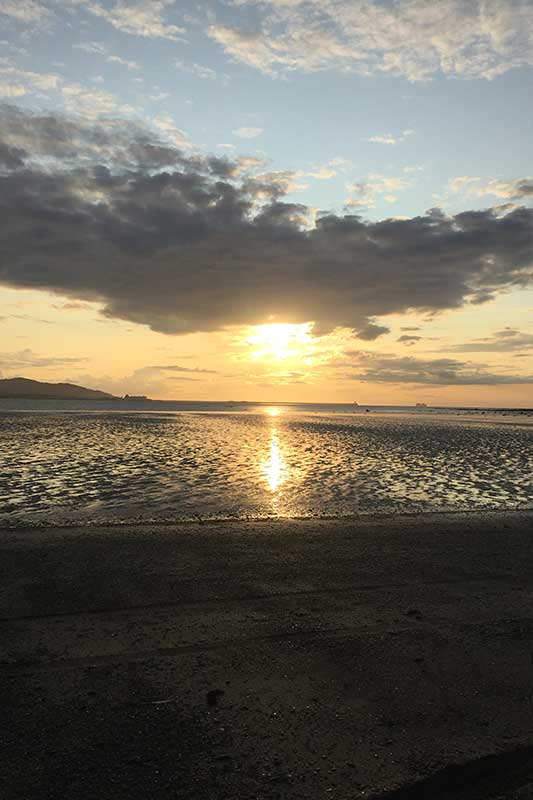 Anglesey Coast Sunset by Laura and Dan Cox of Rayleigh.