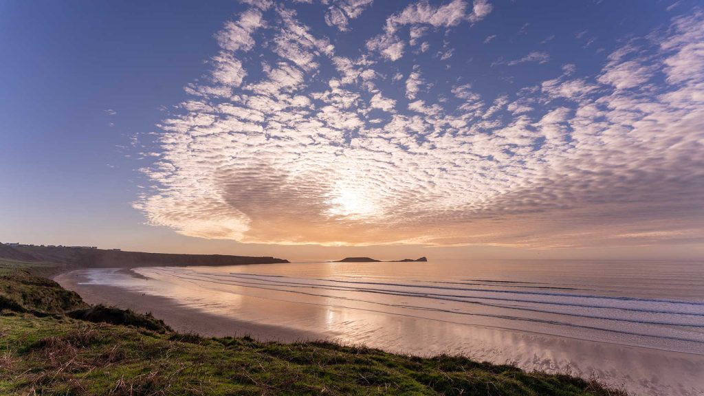 Llangenithbeach - the Gower