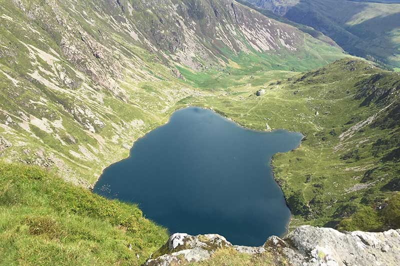 View of  Llyn Cau by Laura and Dan Cox of Rayleigh