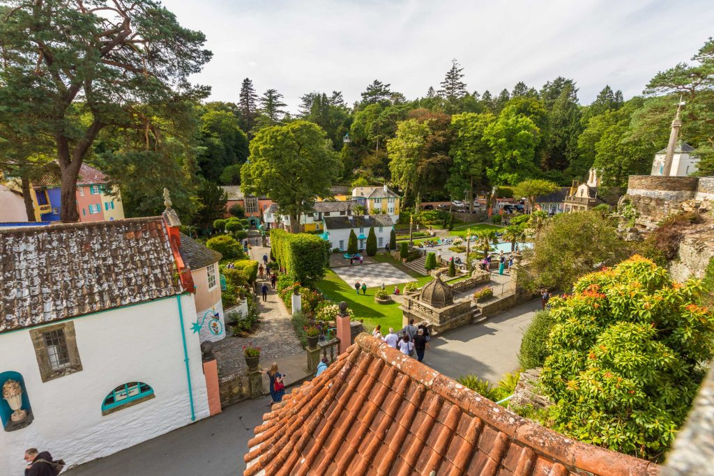 View over Port Meirion